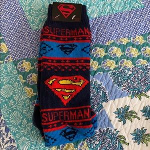 Superman Cozy Socks